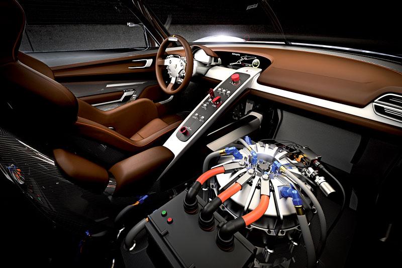 Detroit 2011: Porsche 918 RSR: hybridní závoďák se představuje: - fotka 1