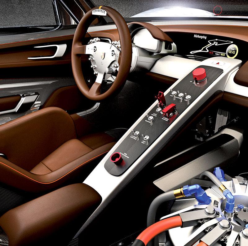 Detroit 2011: Porsche 918 RSR: hybridní závoďák se představuje: - fotka 2