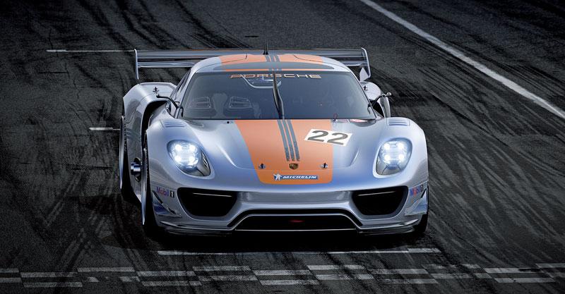 Detroit 2011: Porsche 918 RSR: hybridní závoďák se představuje: - fotka 4