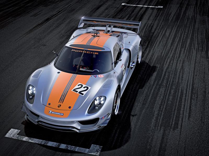 Detroit 2011: Porsche 918 RSR: hybridní závoďák se představuje: - fotka 5