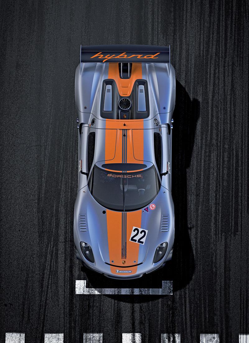 Detroit 2011: Porsche 918 RSR: hybridní závoďák se představuje: - fotka 6