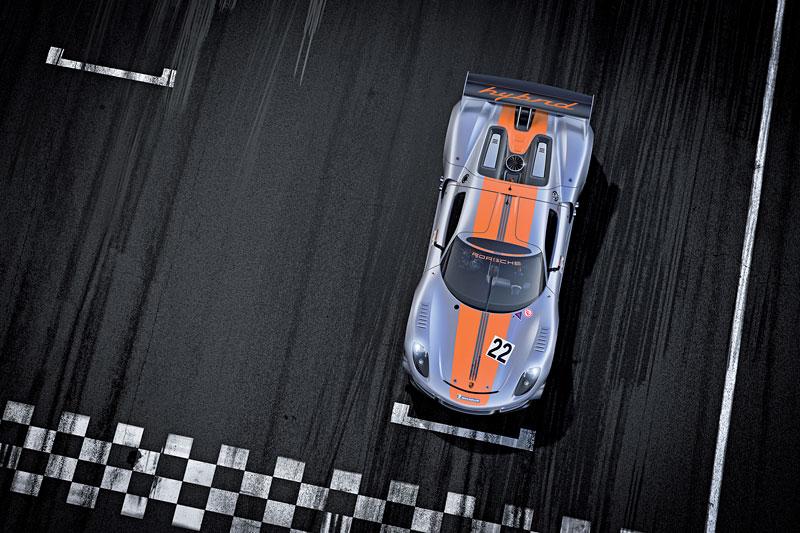 Detroit 2011: Porsche 918 RSR: hybridní závoďák se představuje: - fotka 7