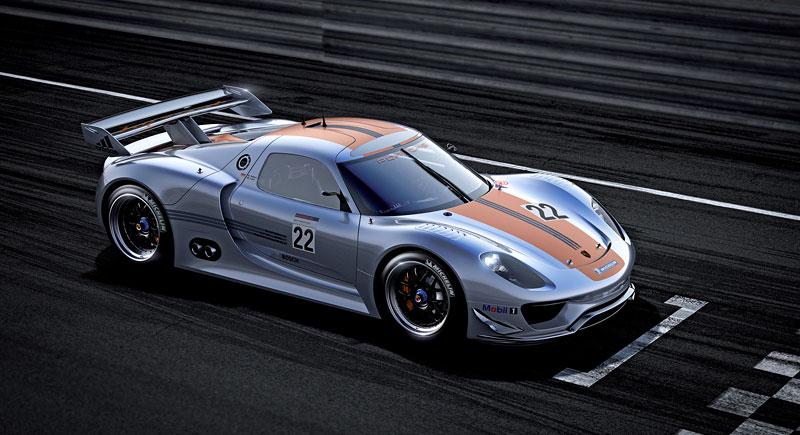 Detroit 2011: Porsche 918 RSR: hybridní závoďák se představuje: - fotka 8