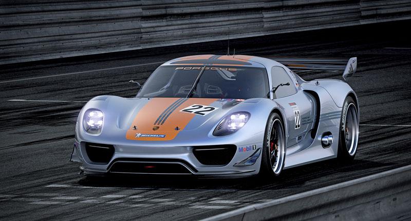 Detroit 2011: Porsche 918 RSR: hybridní závoďák se představuje: - fotka 9