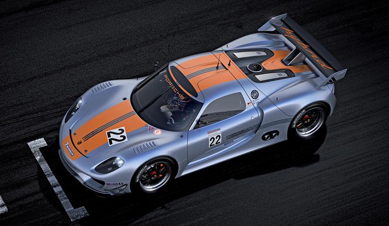 Detroit 2011: Porsche 918 RSR: hybridní závoďák se představuje: - fotka 10