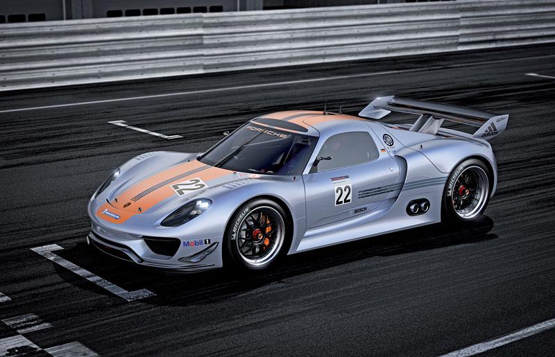 Detroit 2011: Porsche 918 RSR: hybridní závoďák se představuje: - fotka 11