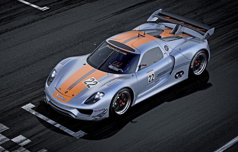 Detroit 2011: Porsche 918 RSR: hybridní závoďák se představuje: - fotka 12