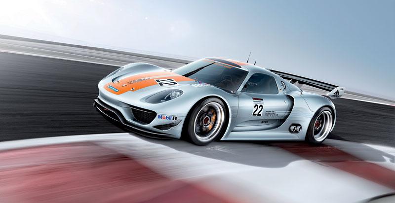 Detroit 2011: Porsche 918 RSR: hybridní závoďák se představuje: - fotka 13