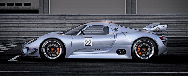 Detroit 2011: Porsche 918 RSR: hybridní závoďák se představuje: - fotka 14