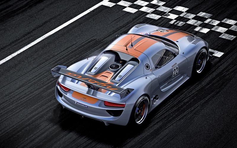 Detroit 2011: Porsche 918 RSR: hybridní závoďák se představuje: - fotka 17