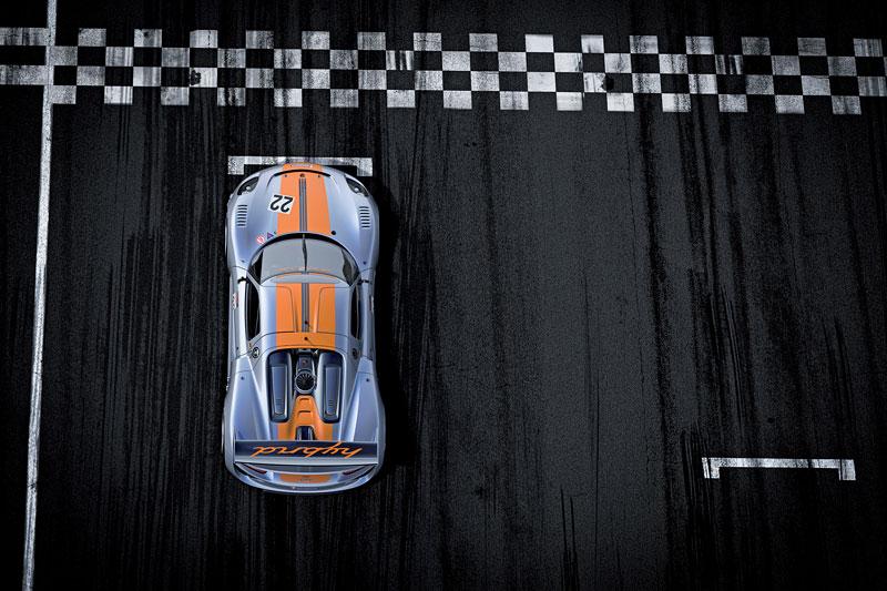 Detroit 2011: Porsche 918 RSR: hybridní závoďák se představuje: - fotka 21