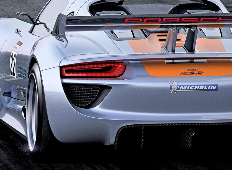 Detroit 2011: Porsche 918 RSR: hybridní závoďák se představuje: - fotka 22