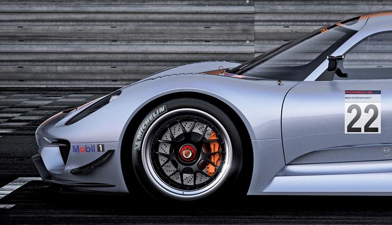Detroit 2011: Porsche 918 RSR: hybridní závoďák se představuje: - fotka 24