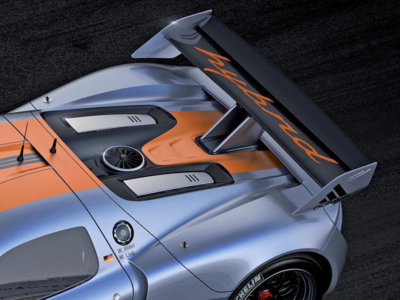 Detroit 2011: Porsche 918 RSR: hybridní závoďák se představuje: - fotka 25