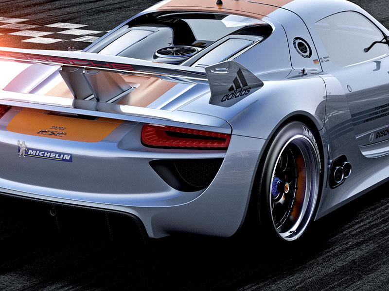 Detroit 2011: Porsche 918 RSR: hybridní závoďák se představuje: - fotka 26