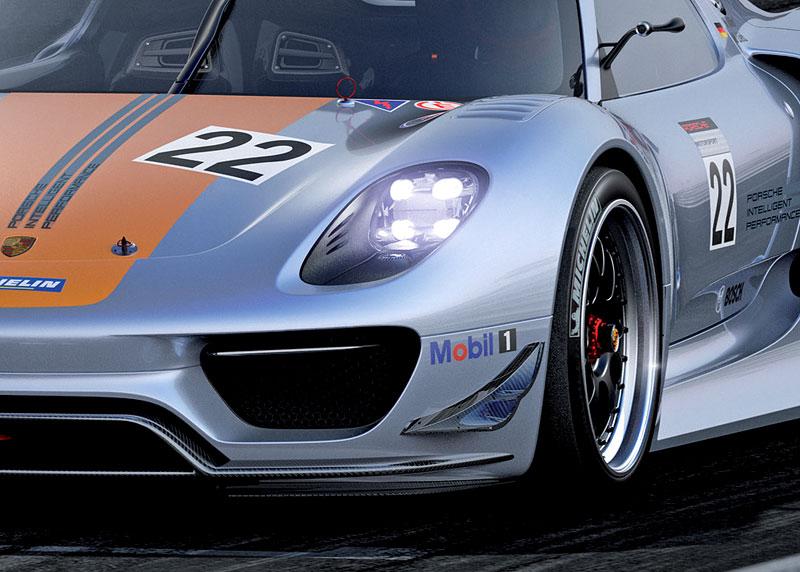Detroit 2011: Porsche 918 RSR: hybridní závoďák se představuje: - fotka 27