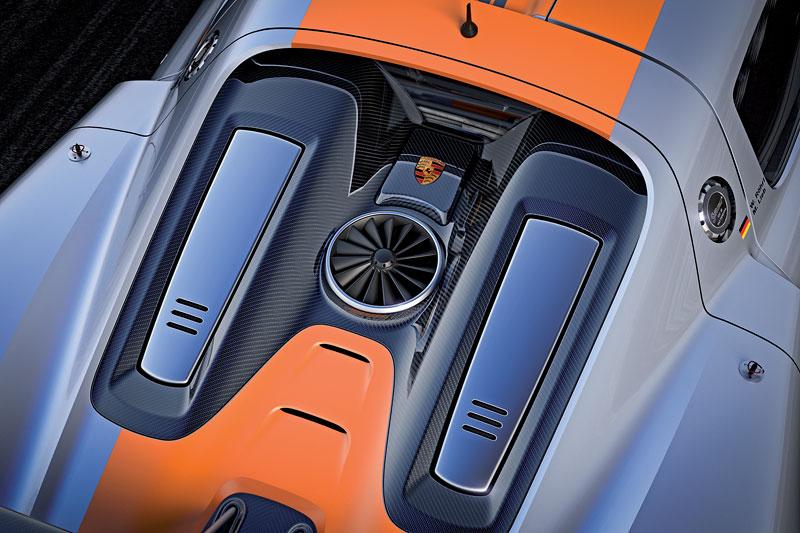 Detroit 2011: Porsche 918 RSR: hybridní závoďák se představuje: - fotka 30