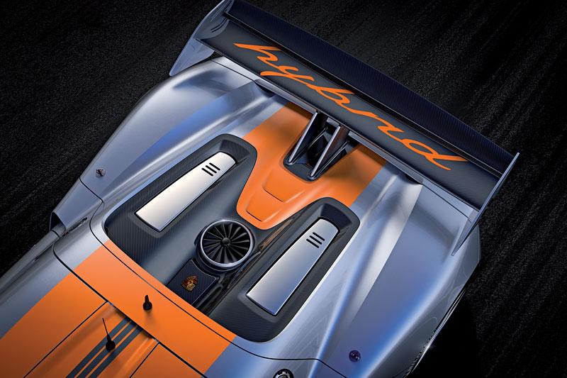 Detroit 2011: Porsche 918 RSR: hybridní závoďák se představuje: - fotka 31