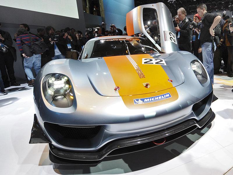 Detroit 2011: Porsche 918 RSR: hybridní závoďák se představuje: - fotka 33