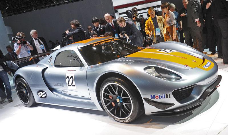 Detroit 2011: Porsche 918 RSR: hybridní závoďák se představuje: - fotka 35