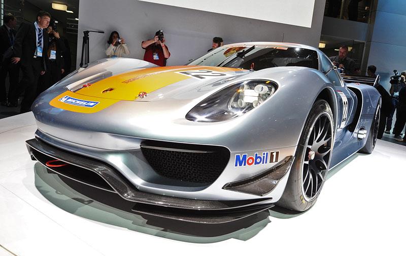 Detroit 2011: Porsche 918 RSR: hybridní závoďák se představuje: - fotka 36