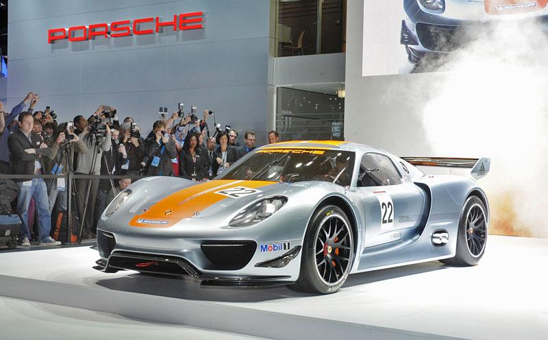 Detroit 2011: Porsche 918 RSR: hybridní závoďák se představuje: - fotka 38