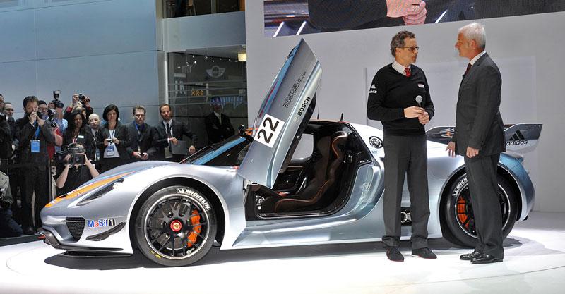 Detroit 2011: Porsche 918 RSR: hybridní závoďák se představuje: - fotka 41