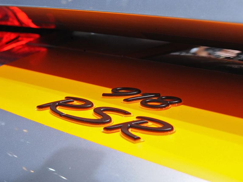 Detroit 2011: Porsche 918 RSR: hybridní závoďák se představuje: - fotka 46