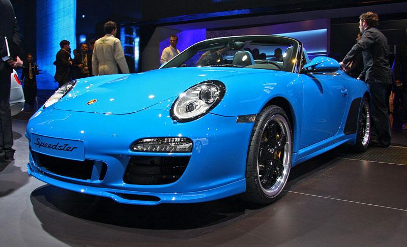 Paříž 2010 živě: Porsche 911 Speedster: - fotka 3