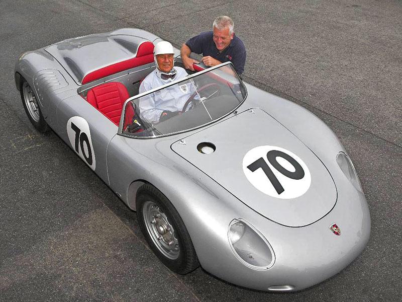 Le Mans uvidí Stirlinga Mosse v jeho Porsche 718 RS 61 Spyder: - fotka 1