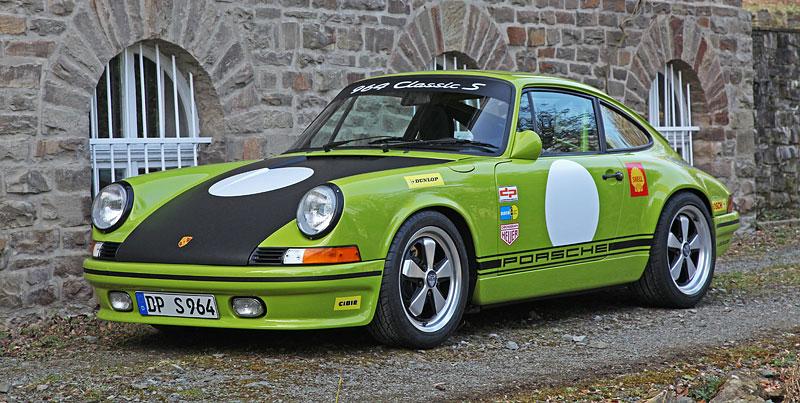 Porsche DP 964 Classic S: Starší 911 v ještě klasičtějším hávu: - fotka 6