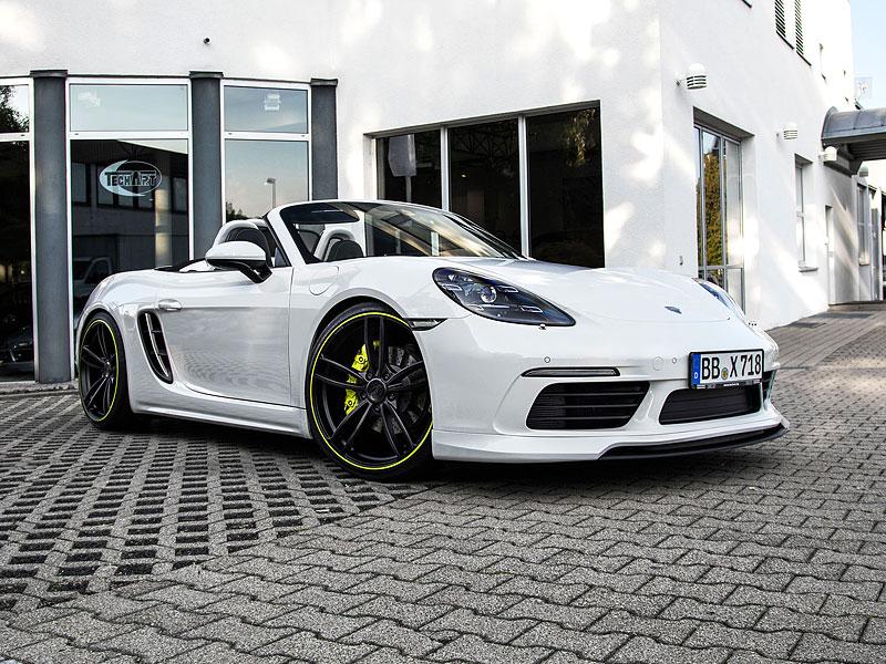 TechArt začíná odhalovat své úpravy pro Porsche 718: - fotka 3