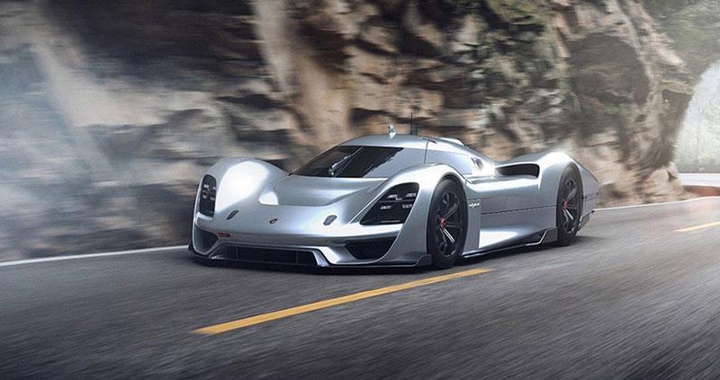 Porsche 908/04 Vision Gran Turismo: Virtuální sen: - fotka 6