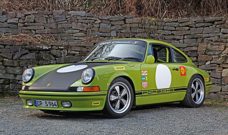 Porsche DP 964 Classic S: Starší 911 v ještě klasičtějším hávu: - fotka 8