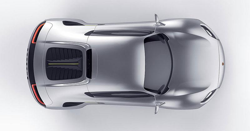 Porsche 356e: Studie elektrického sporťáku s retro prvky: - fotka 5