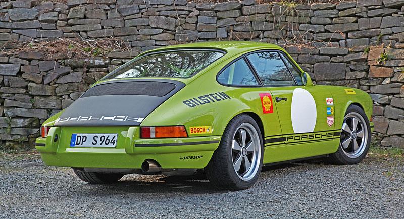 Porsche DP 964 Classic S: Starší 911 v ještě klasičtějším hávu: - fotka 10