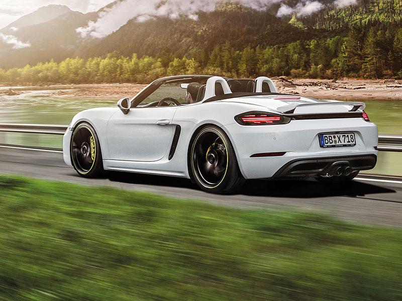 TechArt začíná odhalovat své úpravy pro Porsche 718: - fotka 4
