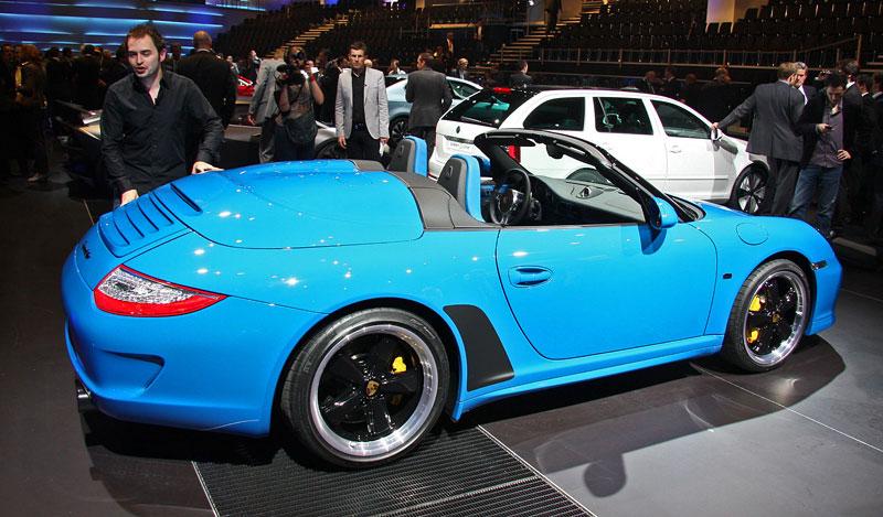 Paříž 2010 živě: Porsche 911 Speedster: - fotka 6