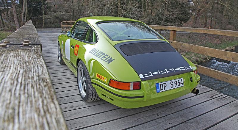 Porsche DP 964 Classic S: Starší 911 v ještě klasičtějším hávu: - fotka 11