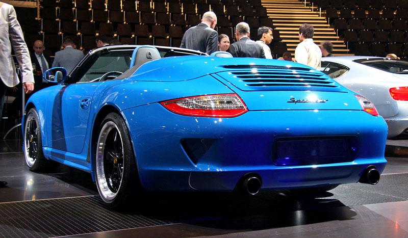 Paříž 2010 živě: Porsche 911 Speedster: - fotka 8
