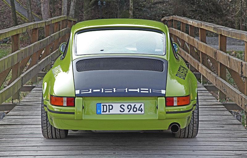 Porsche DP 964 Classic S: Starší 911 v ještě klasičtějším hávu: - fotka 12