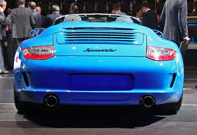 Paříž 2010 živě: Porsche 911 Speedster: - fotka 9