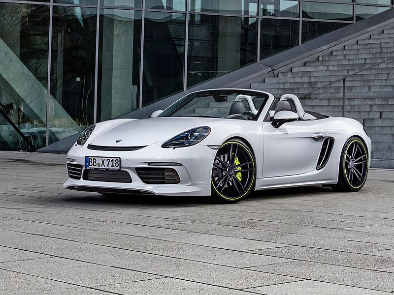 TechArt představuje své úpravy pro Porsche 718 Boxster a Cayman: - fotka 7