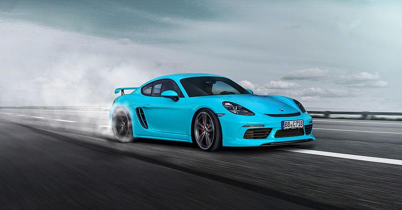 TechArt představuje své úpravy pro Porsche 718 Boxster a Cayman: - fotka 8