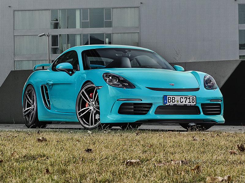 TechArt představuje své úpravy pro Porsche 718 Boxster a Cayman: - fotka 9