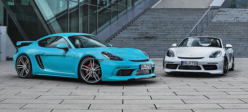 TechArt představuje své úpravy pro Porsche 718 Boxster a Cayman: - fotka 10