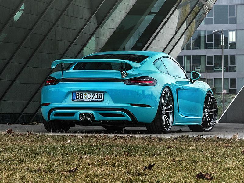TechArt představuje své úpravy pro Porsche 718 Boxster a Cayman: - fotka 12