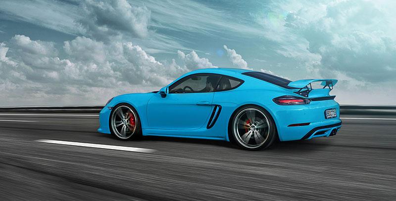 TechArt představuje své úpravy pro Porsche 718 Boxster a Cayman: - fotka 13