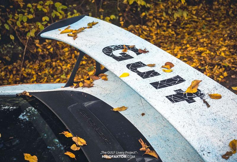 Porsche 911 GT3 RS se převléklo do barev Gulfu a zrezlo. Ale jenom naoko!: - fotka 9