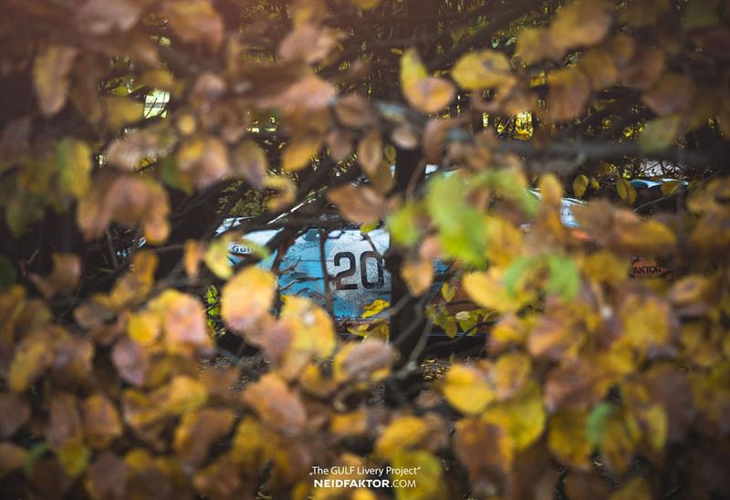 Porsche 911 GT3 RS se převléklo do barev Gulfu a zrezlo. Ale jenom naoko!: - fotka 12